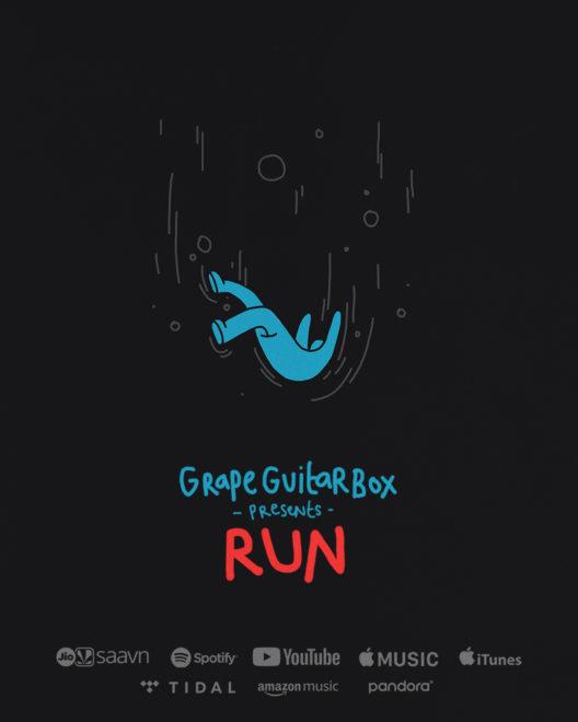 GrapeGuitarBox's New Single Released- 'Run'