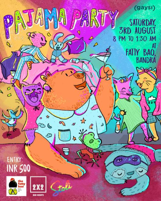 Gaysi Presents 2×2 Bar Nights: Pajama Party