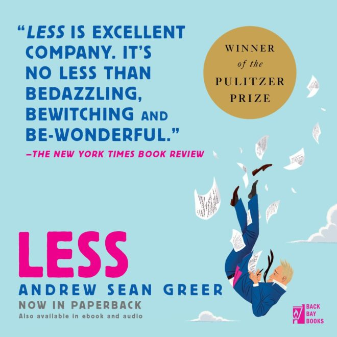 """Book Review: """"Less"""" By Andrew Sean Greer"""