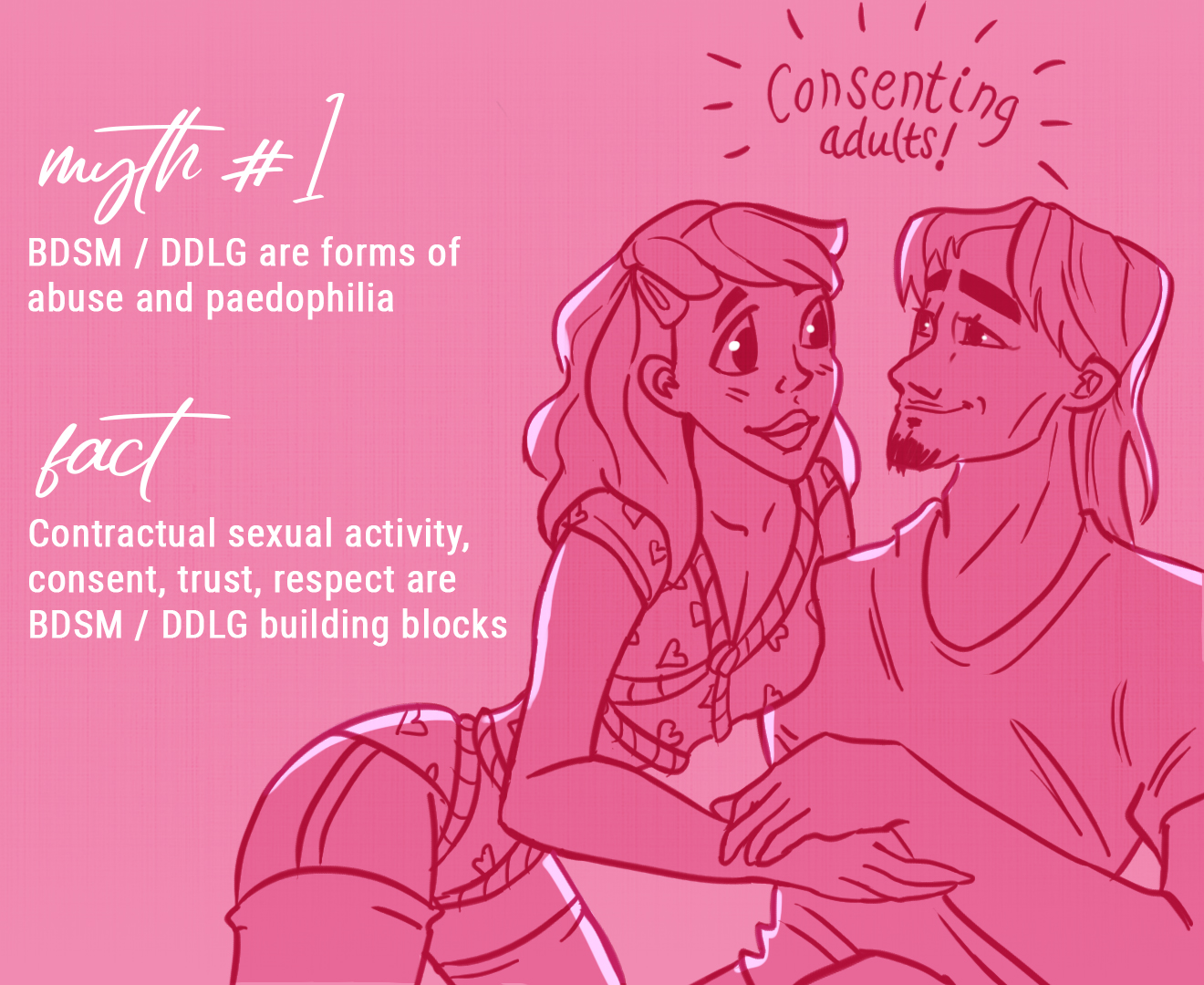 A Whole New World: 5 Common Myths About BDSM / DDLG Debunked