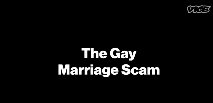 The Big, Fat Arranged Gay Marriage Scam