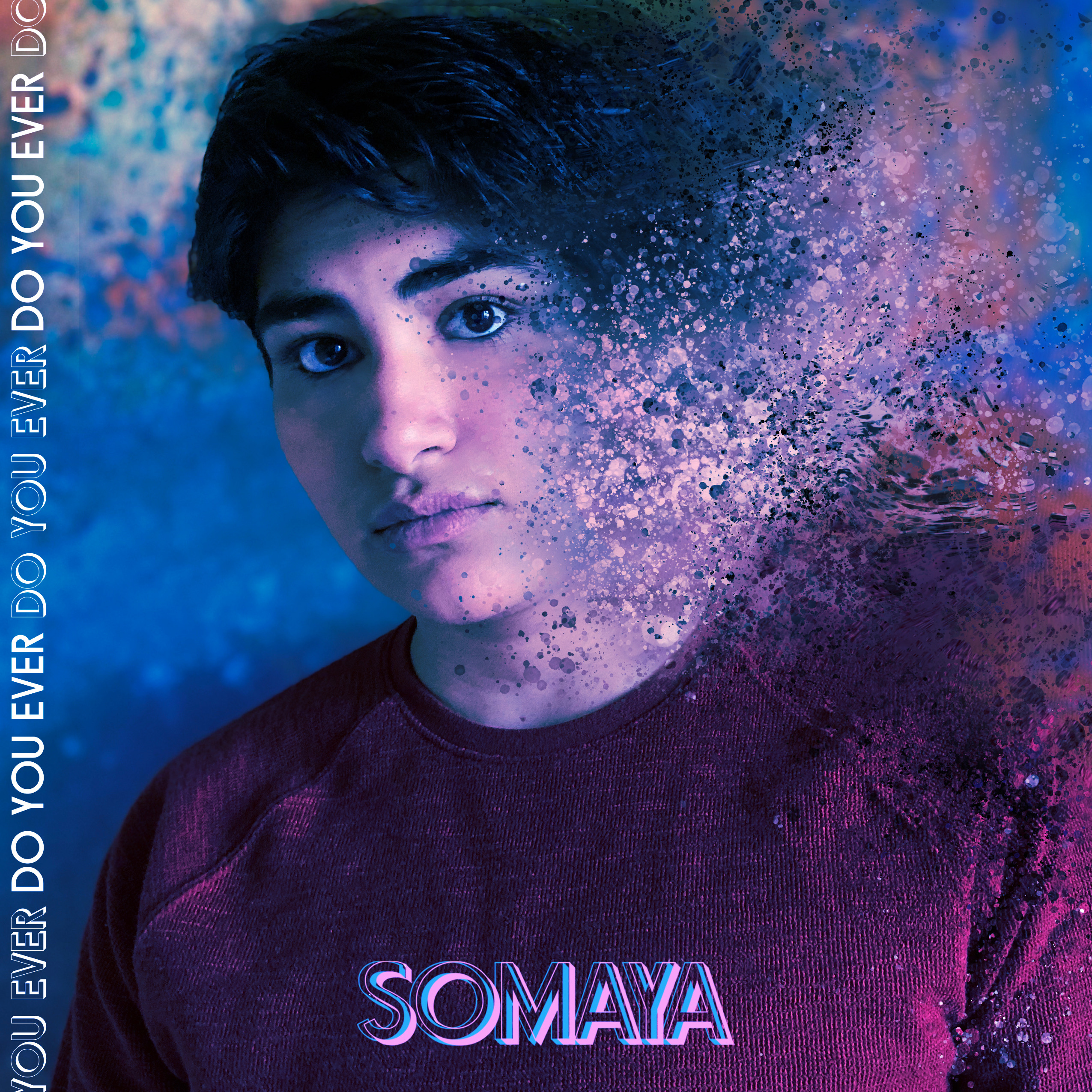 """Queer Desi Musician Somaya on Her Newest Single """"Do You Ever""""."""