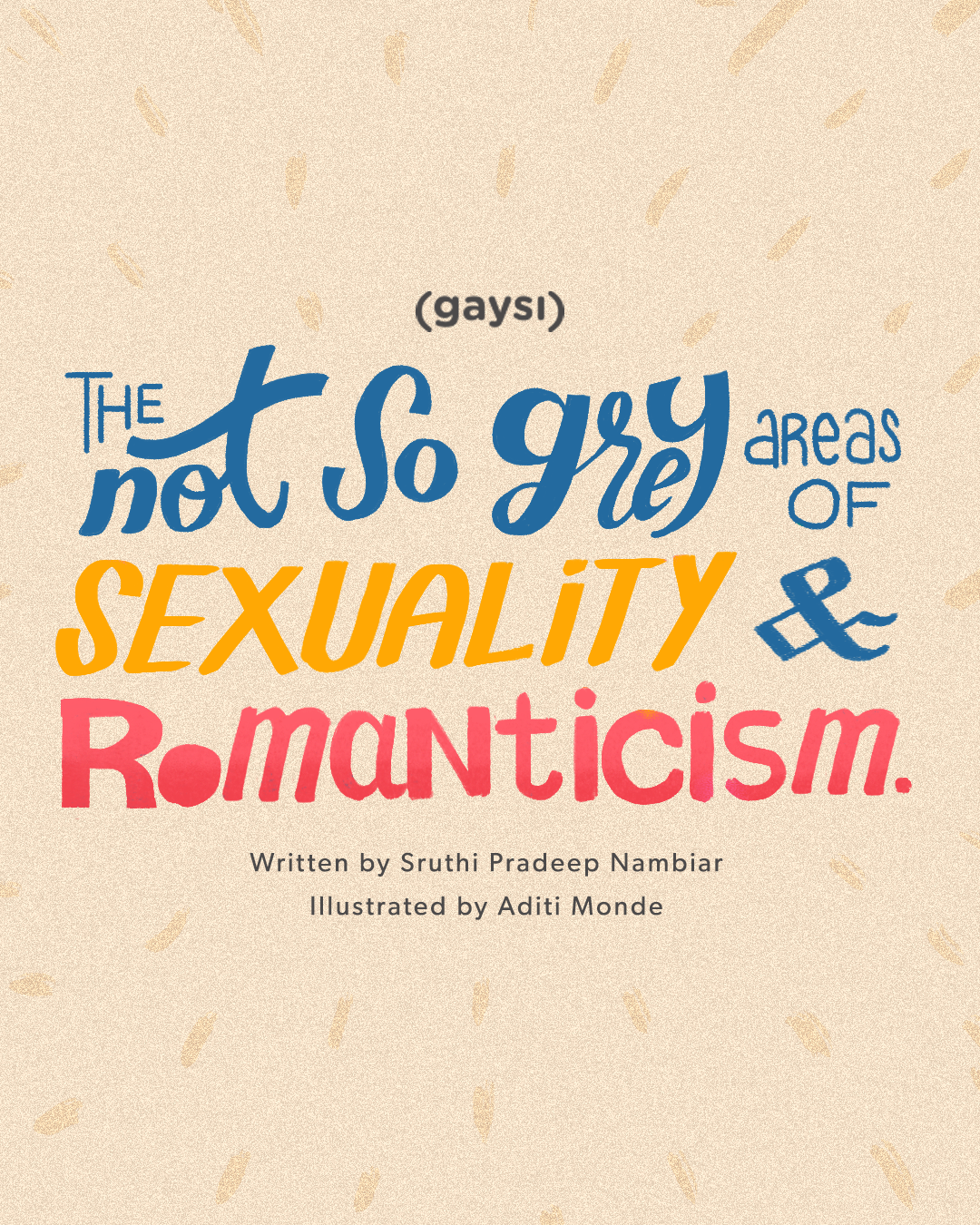 The Not So Grey Area Of Sexuality And Romanticism