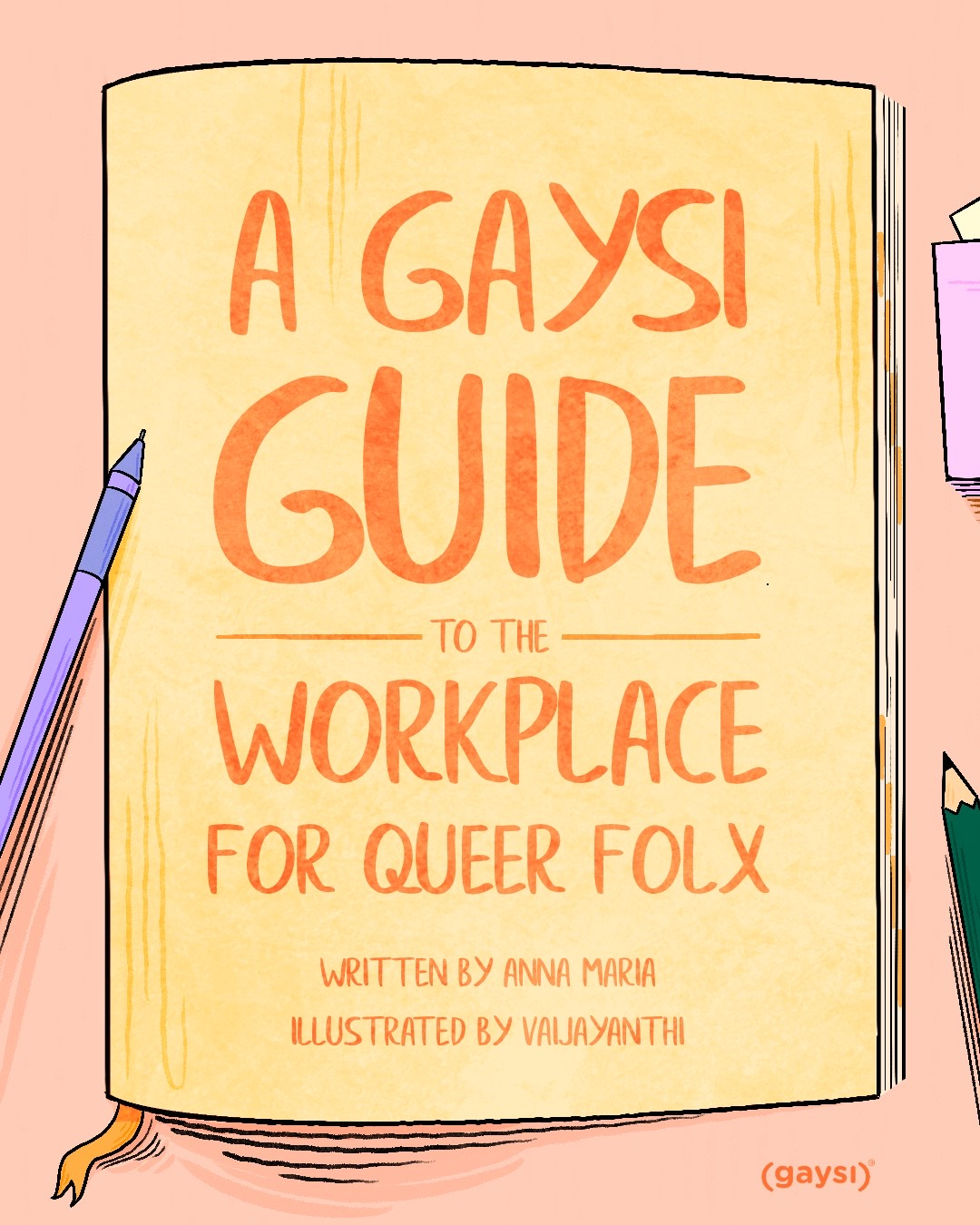 A Gaysi Guide To The Workplace For Queer Folx
