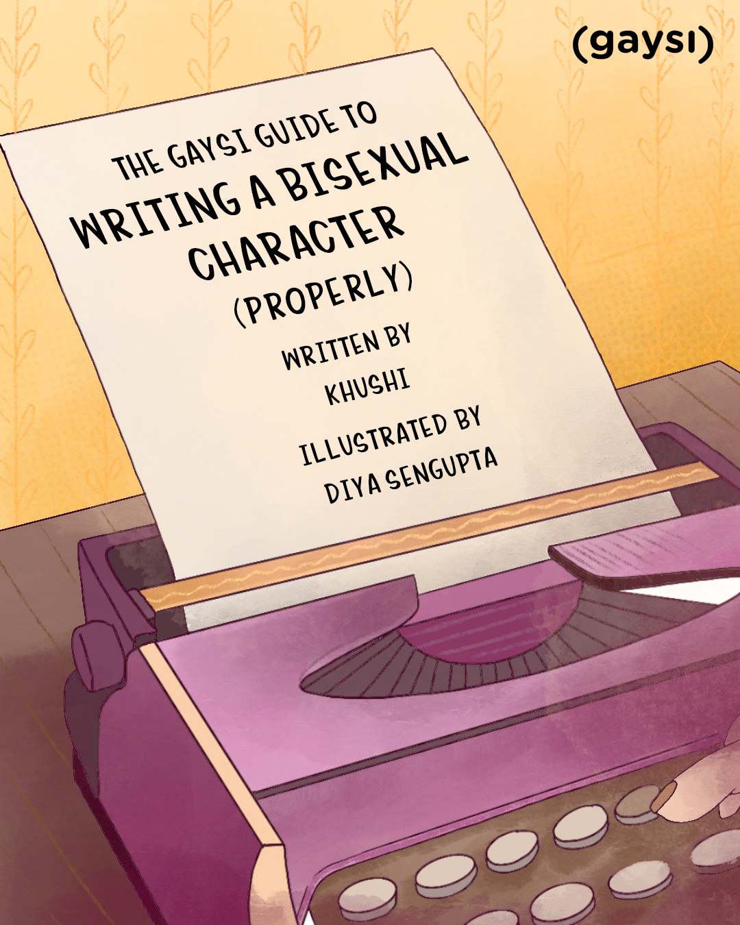 The Gaysi Guide To Writing A Bisexual Character (Properly)