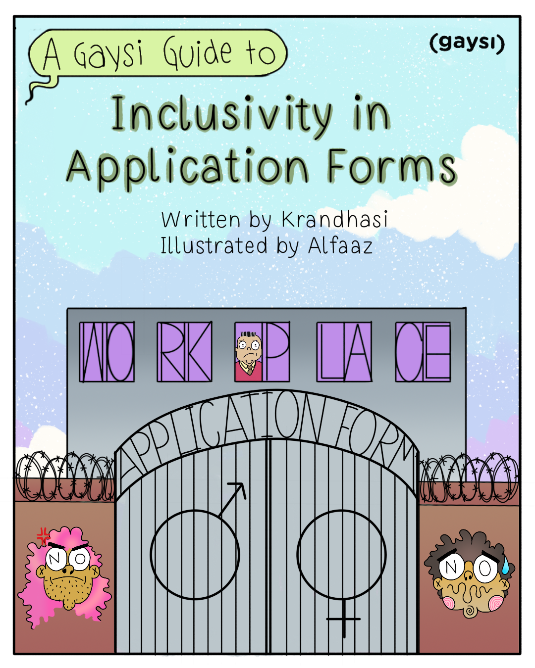 A Gaysi Guide To Inclusivity In Application Forms