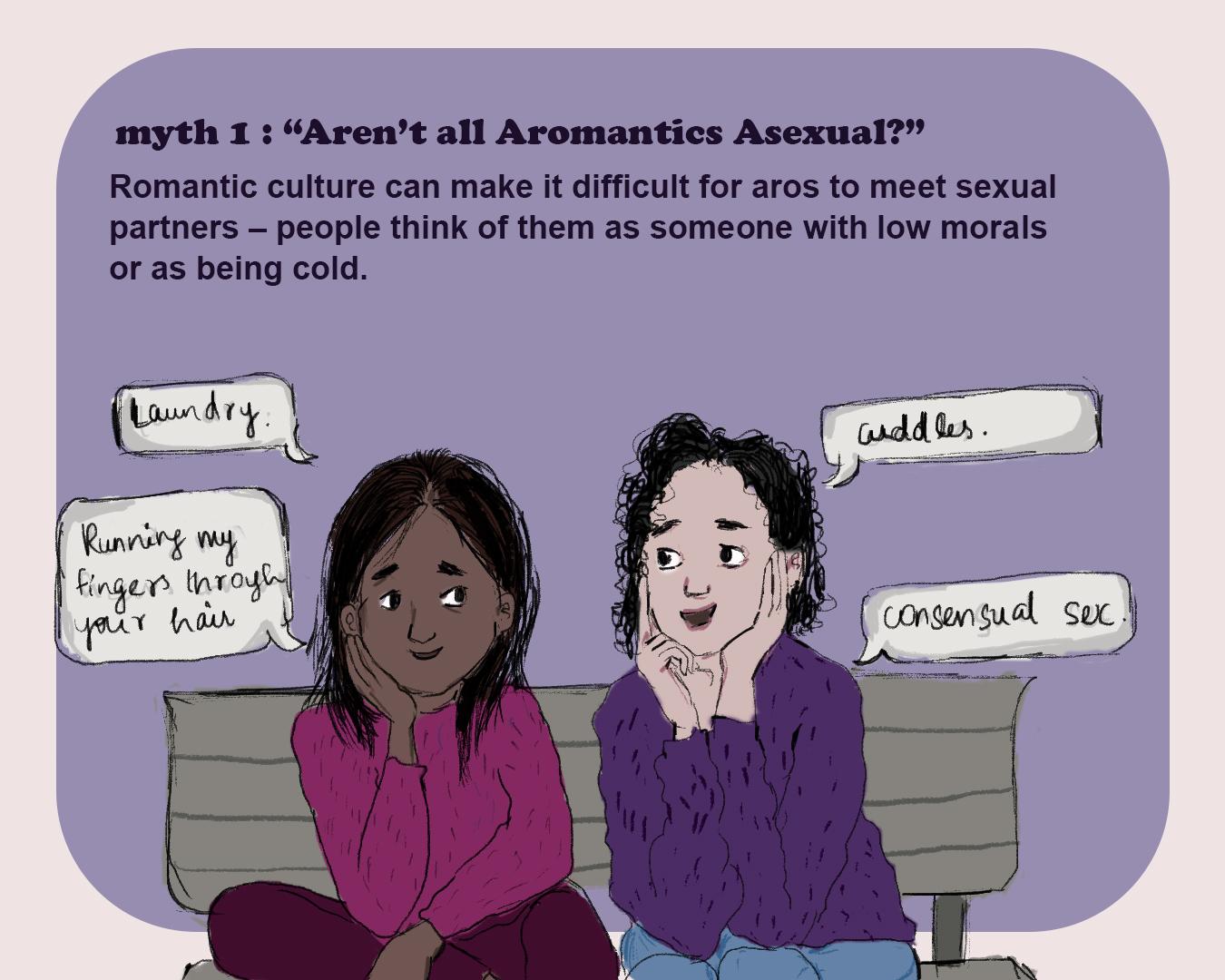 Debunking Myths About Aromanticism