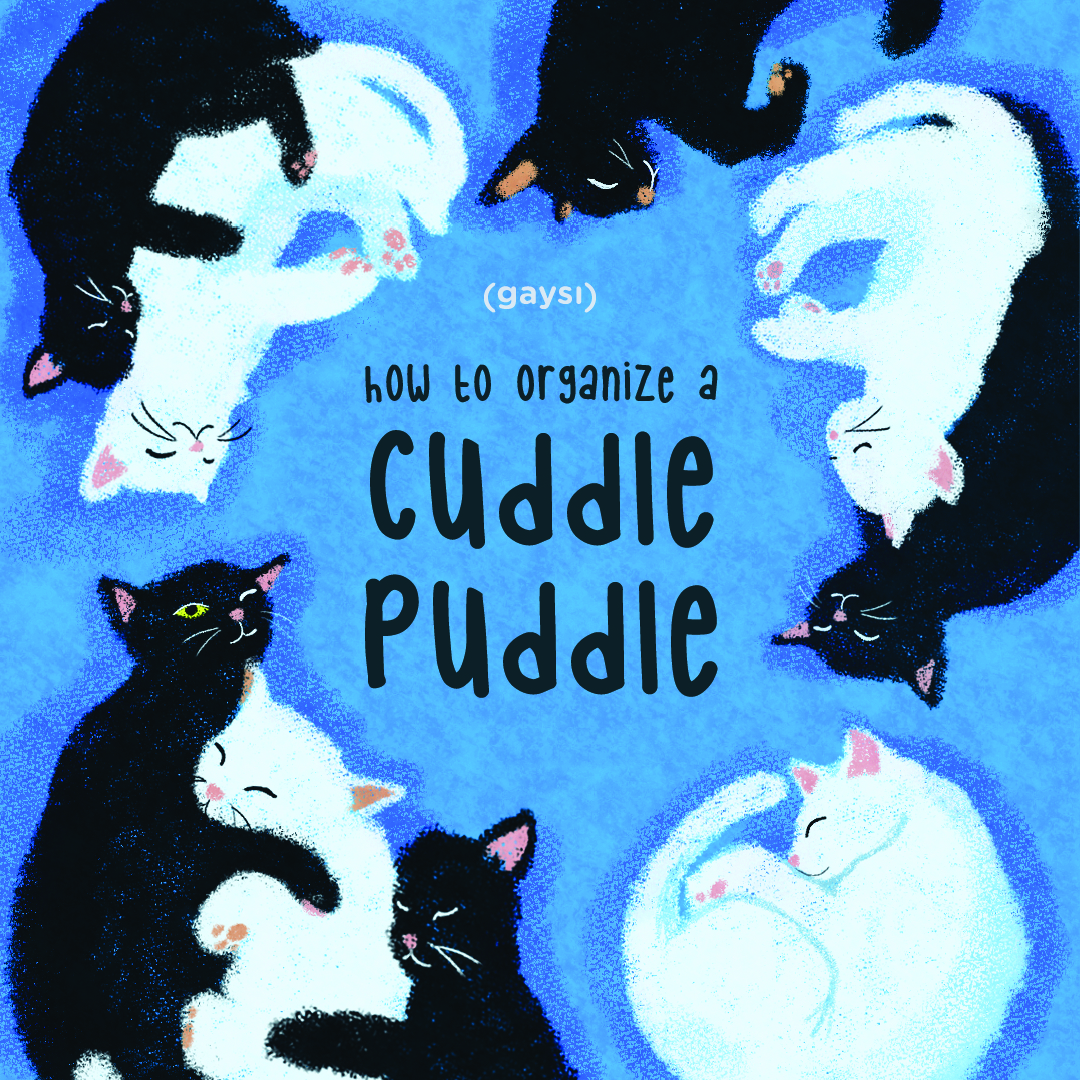 How To Organise A Cuddle Puddle