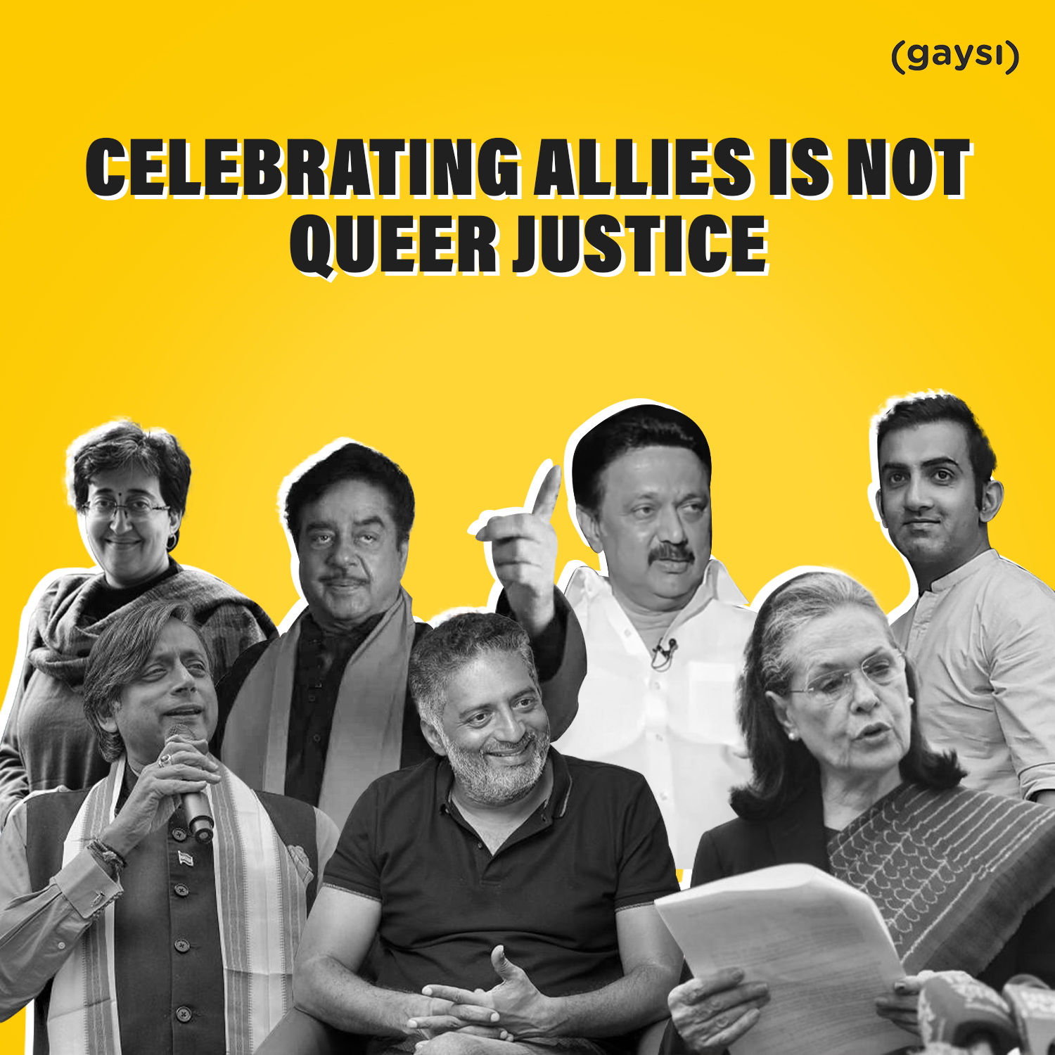 Celebrating Allies Is Not Queer Justice