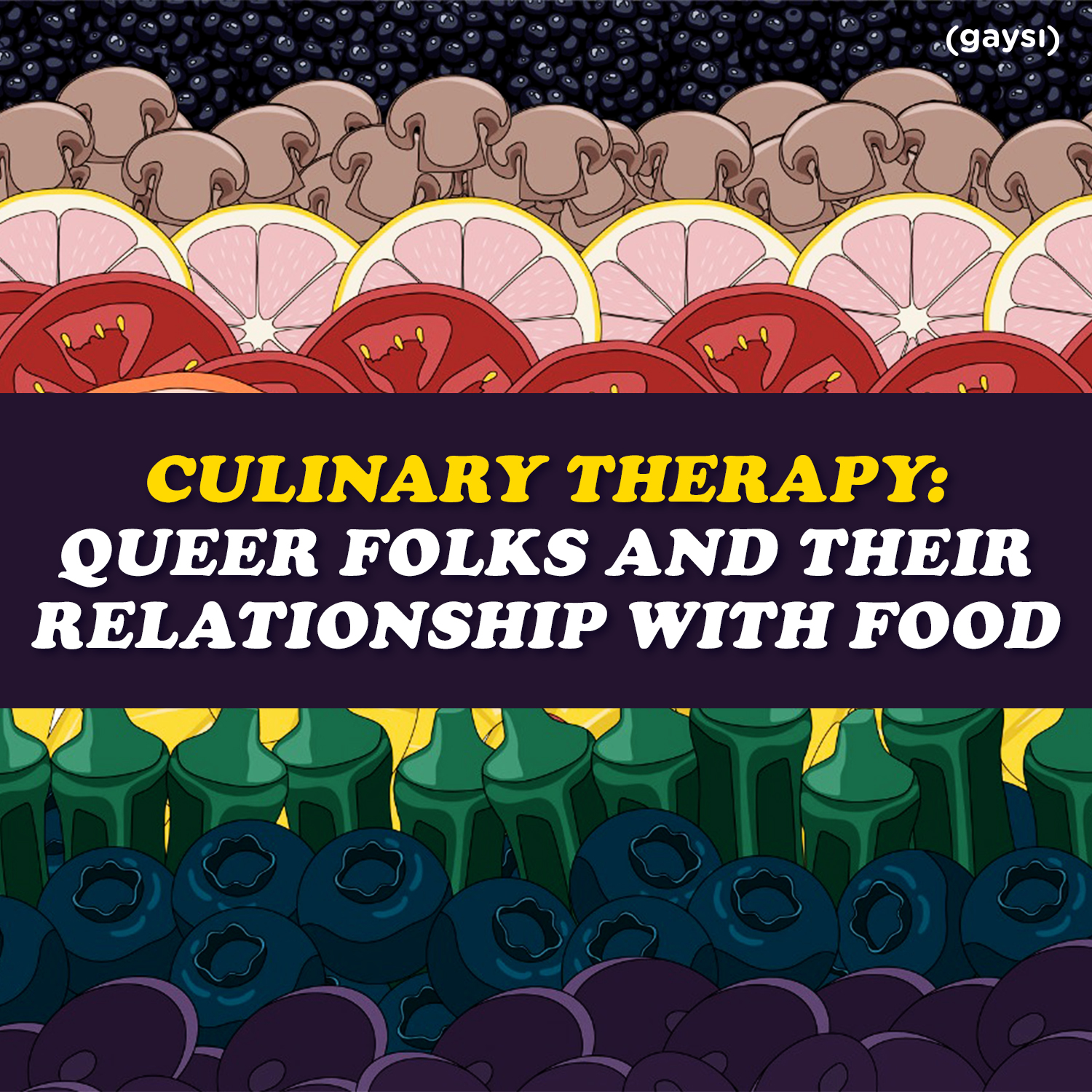 Culinary Therapy: Queer Folks And Their Relationship With Food