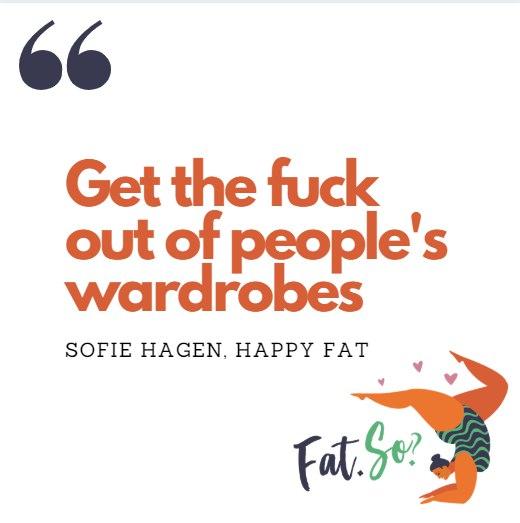 Fat. So? Fatphobia. NO.