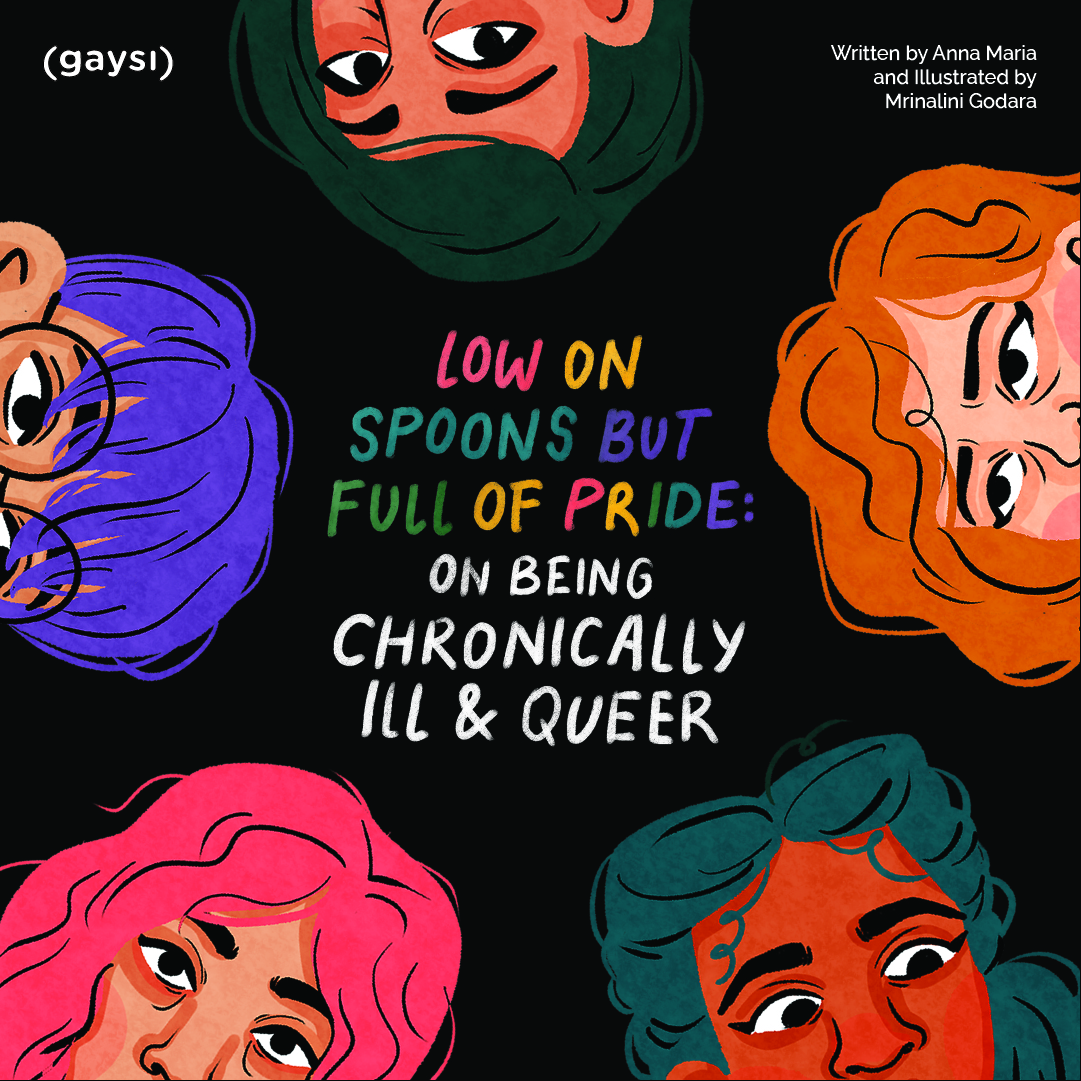 Low On Spoons But Full Of Pride: On Being Chronically Ill And Queer